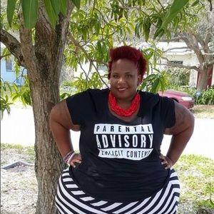 Parental advisory explicit content T-shirt